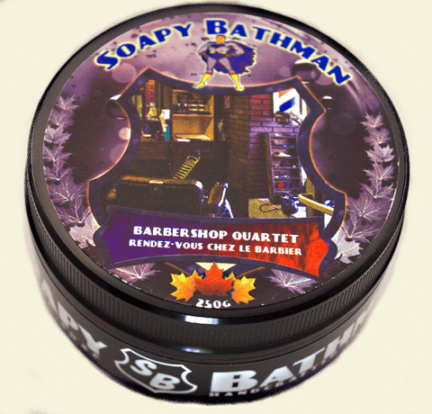 Barbershop Quartet Shea Shave Soap