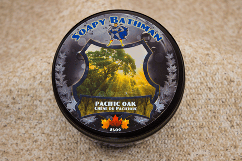 Pacific Oak Shea Shave Soap