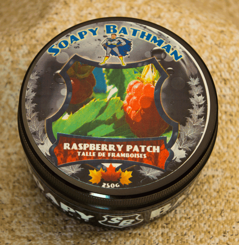 Raspberry Patch Shea Shave Soap