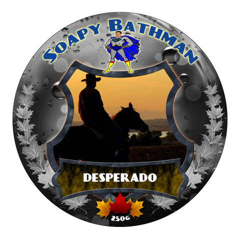 Soapy Bathman Shave Soap Samples