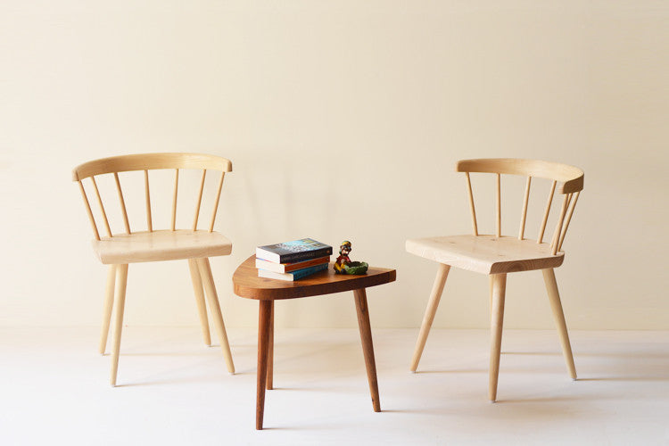 White Ash Windsor Chair solidbench