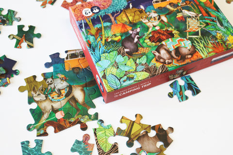 100 Piece Puzzle - The Camping Trip