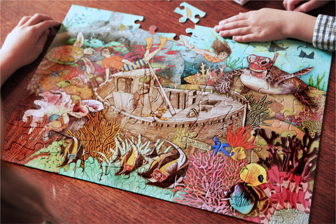 100 Piece Puzzle - The Great Barrier Reef