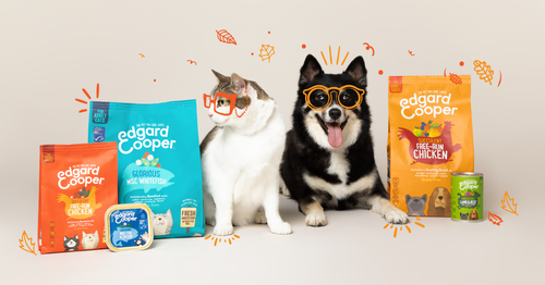 Senior pet food for dogs and cats