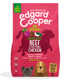 Fresh Organic Beef & Free range Chicken with organic beetroot, coconut & kale