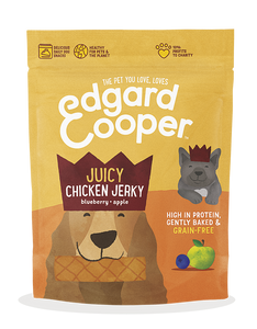 Juicy chicken jerky