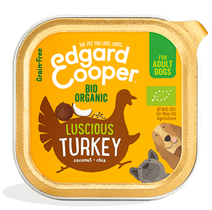 Organic Turkey with organic coconut & chia seeds