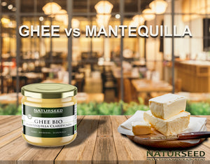 Ghee vs. Mantequilla