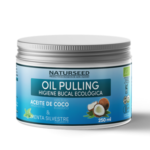 OIL PULLING - BLANQUEAMIENTO, HIGIENE DENTAL 250ML - NaturSeed