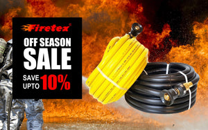 Fire Hose Sale - Save Up to 10% on 19mm & 25mm Australian Fire Hoses