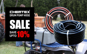 10% off on Drum Pump Hose • Flexible, Braided Petrol, Diesel & Kerosene Fuel Hose