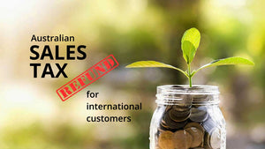 Sales Tax Refund for International Customers