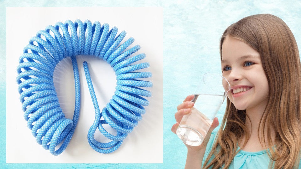 Self Recoil Drinking Water Hose