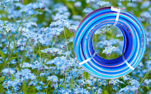 Summer Blue Garden Hose