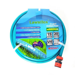 12 mm Fitted Anti Kink Knitted Garden Hose
