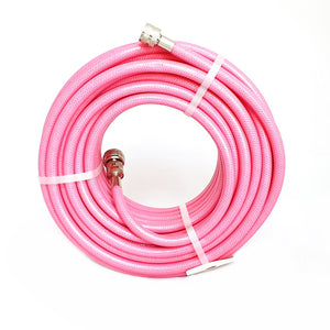 Crimped Pink Knitted Garden Hose