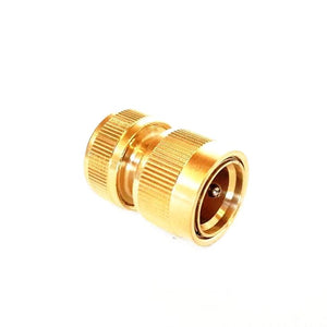 "Brass Garden Hose Connector 12mm (1/2"")"