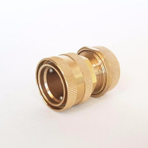 "Brass Garden Hose Connector 18mm (3/4"")"