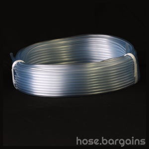 Clear Plastic Tubing 3mm - hose.bargains - 2