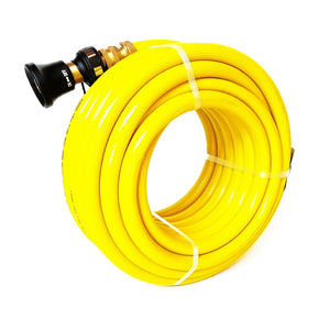 Fitted Fire Hose: 19 mm, AS 1221, 145 PSI, 5 Yr Warranty, UV Stabilized