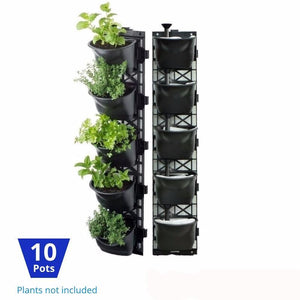 Vertical Garden Kit 10 Pots - hose.bargains - 1