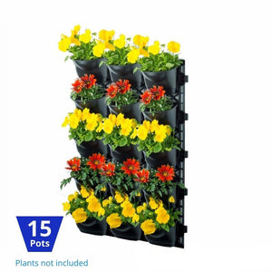 Vertical Garden Kit 15 Pots - hose.bargains - 1