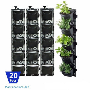 Vertical Garden Kit 20 Pots - hose.bargains - 1