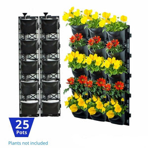 Vertical Garden Kit 25 Pots - hose.bargains - 1