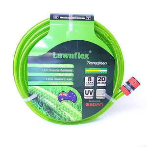 12 mm Fitted High Visibility Garden Hose