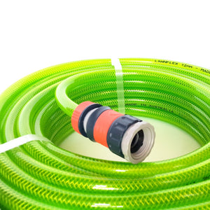 "12mm 1/2"" • Fitted High Visibility Garden Hose"