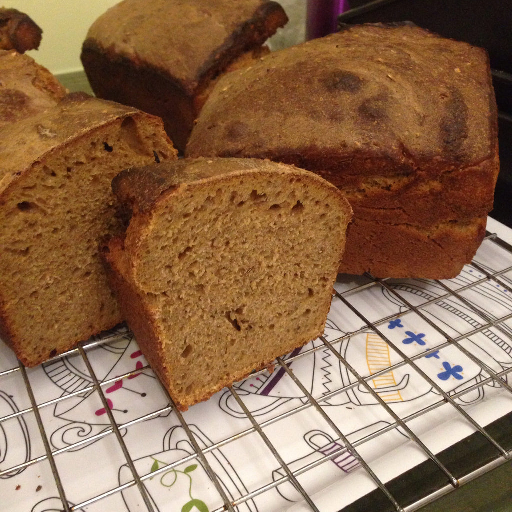 Rye & Wheat Loaf (50/50) with Caraway & Fennel