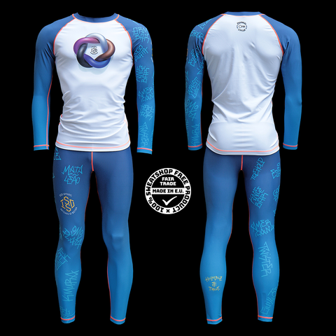 Isso 'Eternal Cycle' LIMITED EDITION grappling gear BLUE