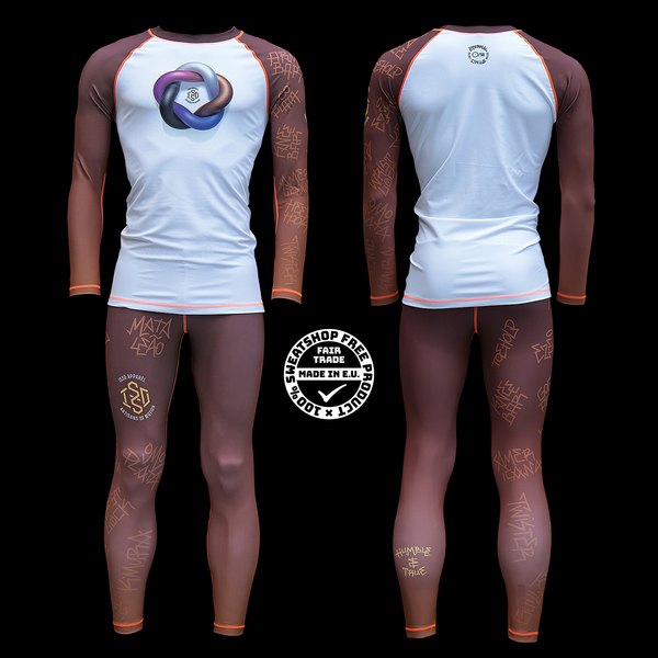 Isso 'Eternal Cycle' LIMITED EDITION grappling gear BROWN