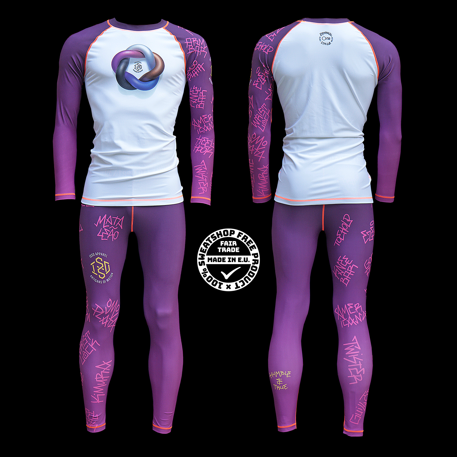 Isso 'Eternal Cycle' LIMITED EDITION grappling gear PURPLE