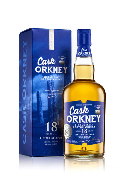 Cask Orkney 18 Year Old 700ml
