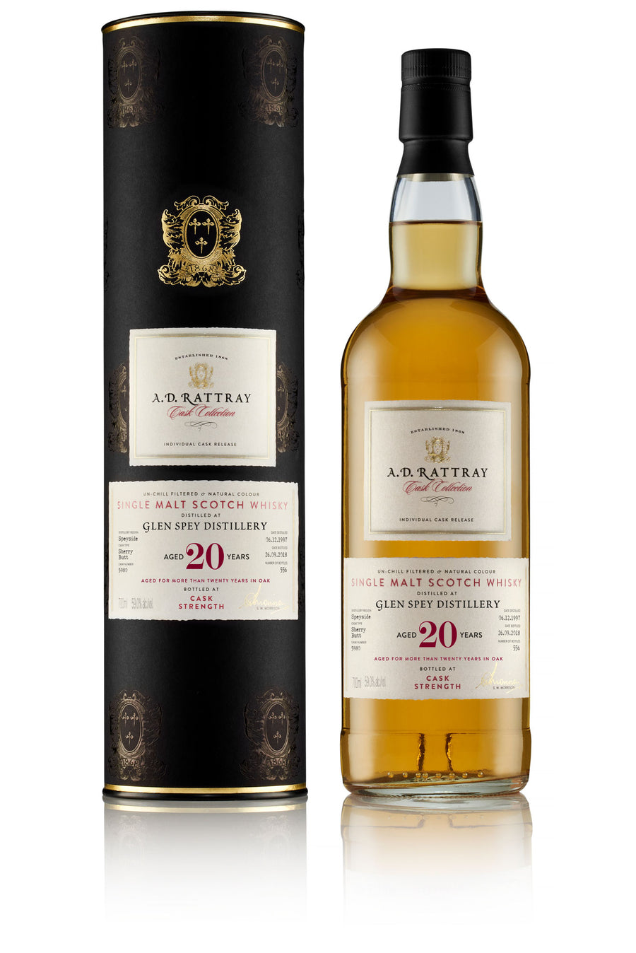Glen Spey 1997 Cask Collection