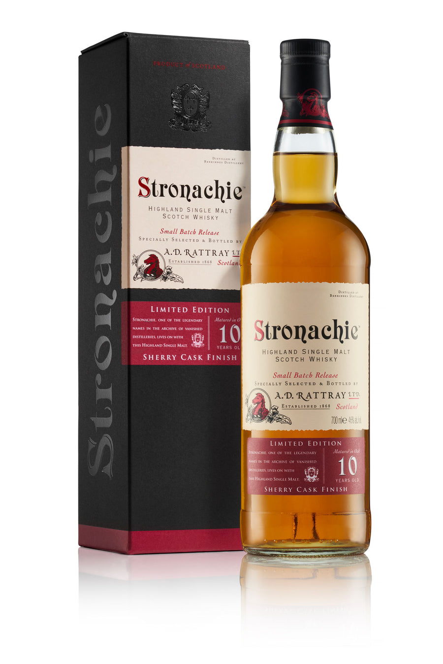 Stronachie Sherry Edition Single Malt Scotch Whisky