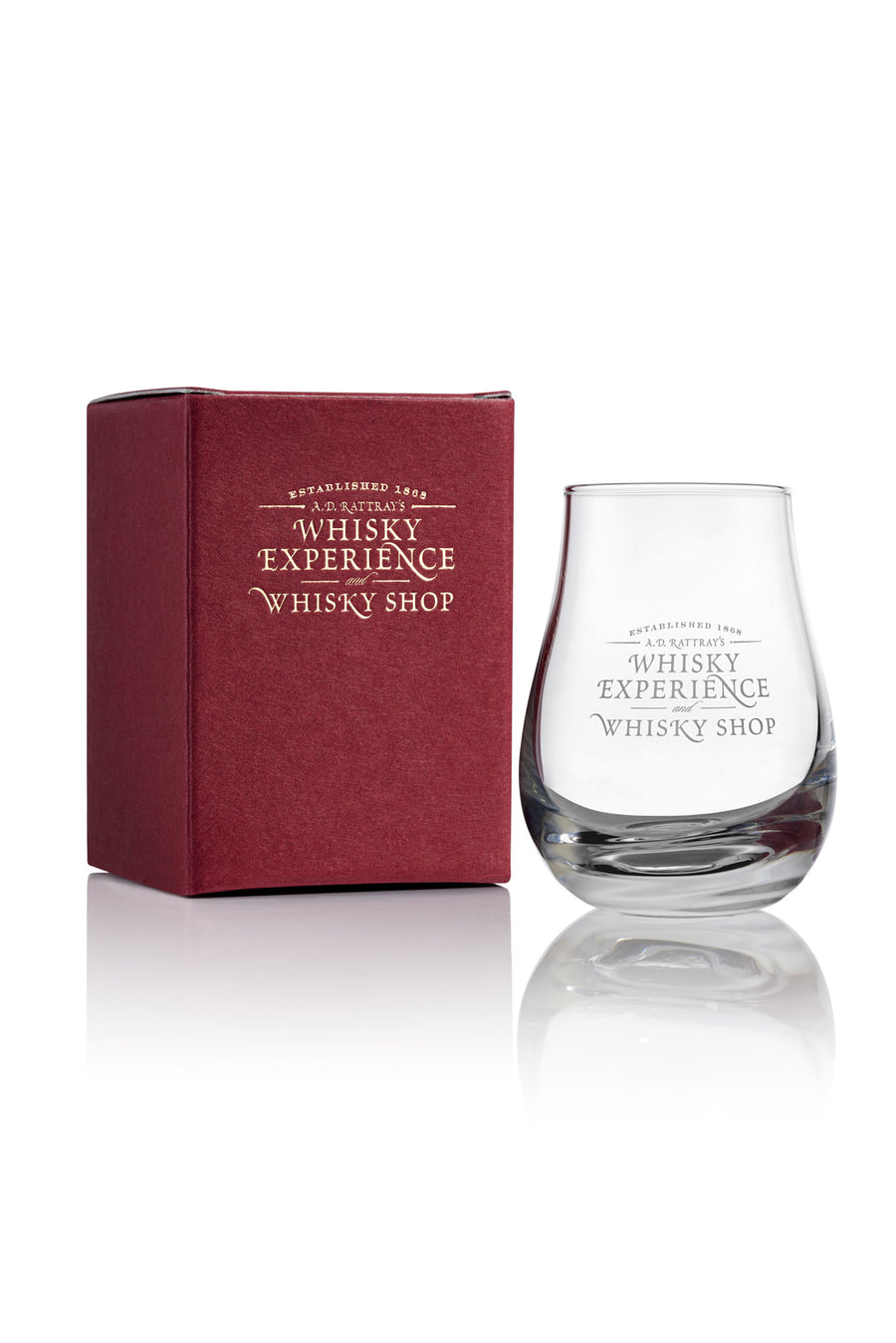 A D Rattray Whisky Glass
