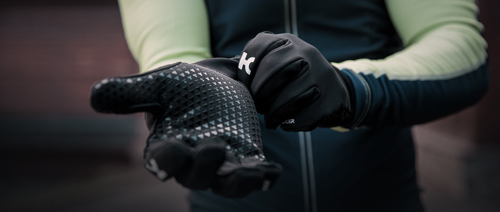 katusha cycling apparel - gloves