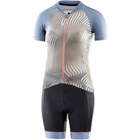 Katusha Apparel - Women's ALLURE Cycling Kit - AOP Warp Citadel