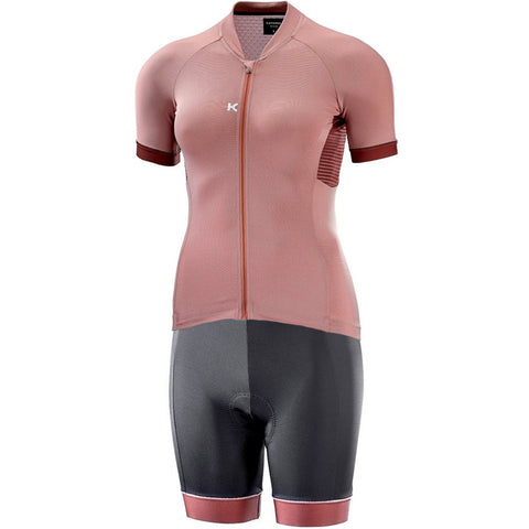 ALLURE Cycling Kit - Light Mahogany