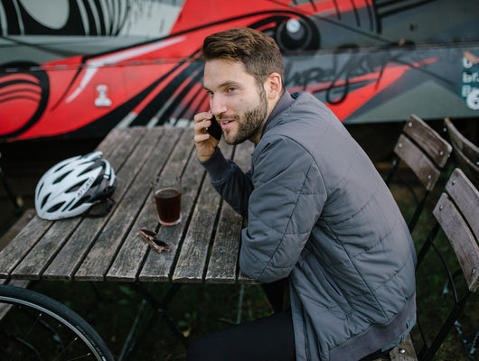 Katusha Cycling Commuter Insulated Jacket