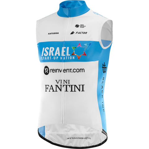 Team Israel Start Up Nation Cycling Wind Vest