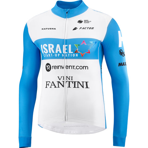 Team Israel Start-Up Nation Long Sleeve Cycling Jersey
