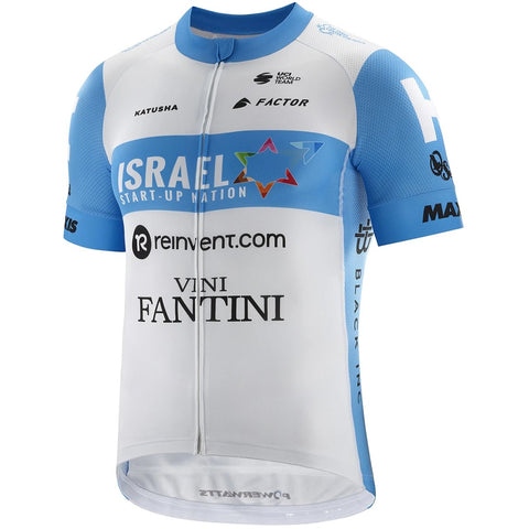 Team Israel Start Up Nation Short Sleeve Cycling Jersey