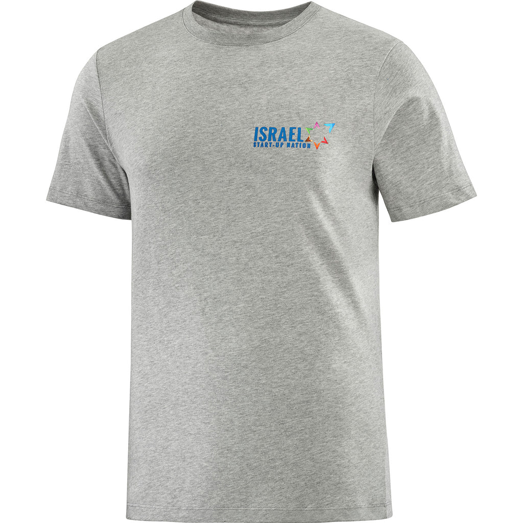 TEAM Cotton T Shirt - Israel Start Up Nation / Grey