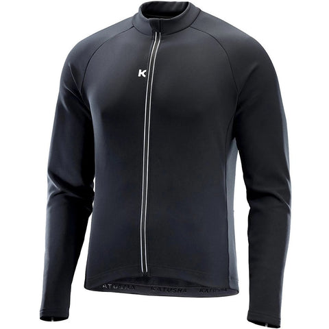 Katusha SOFTSHELL Cycling Jacket - Black