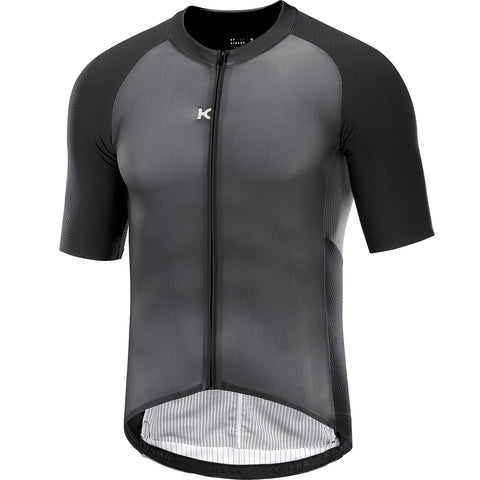 KATUSHA Men's Aero Cycling Jersey - Asphalt Black