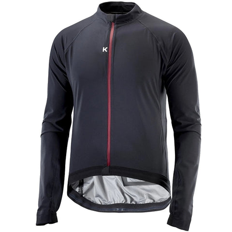 Katusha 3L RAIN Cycling Jacket - Black