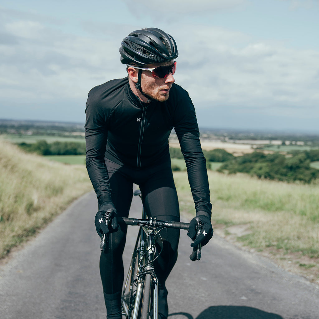 Katusha Apparel - MERINO Cycling Jacket - Black